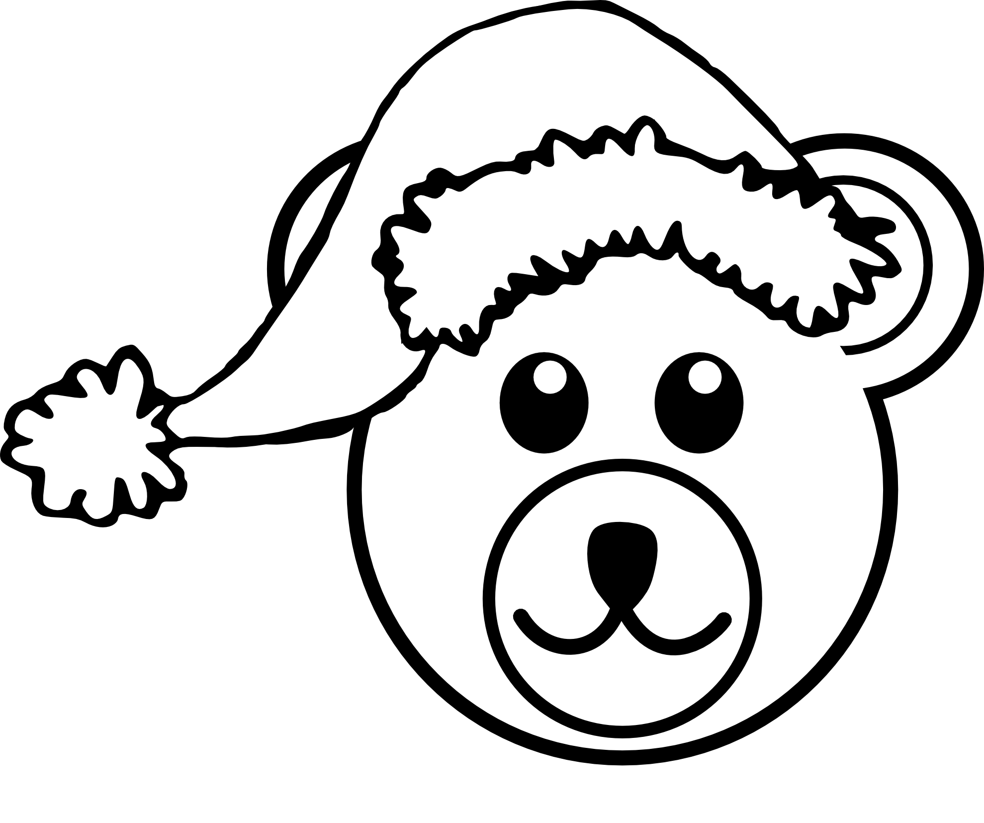 Black & White clipart #9, Download drawings