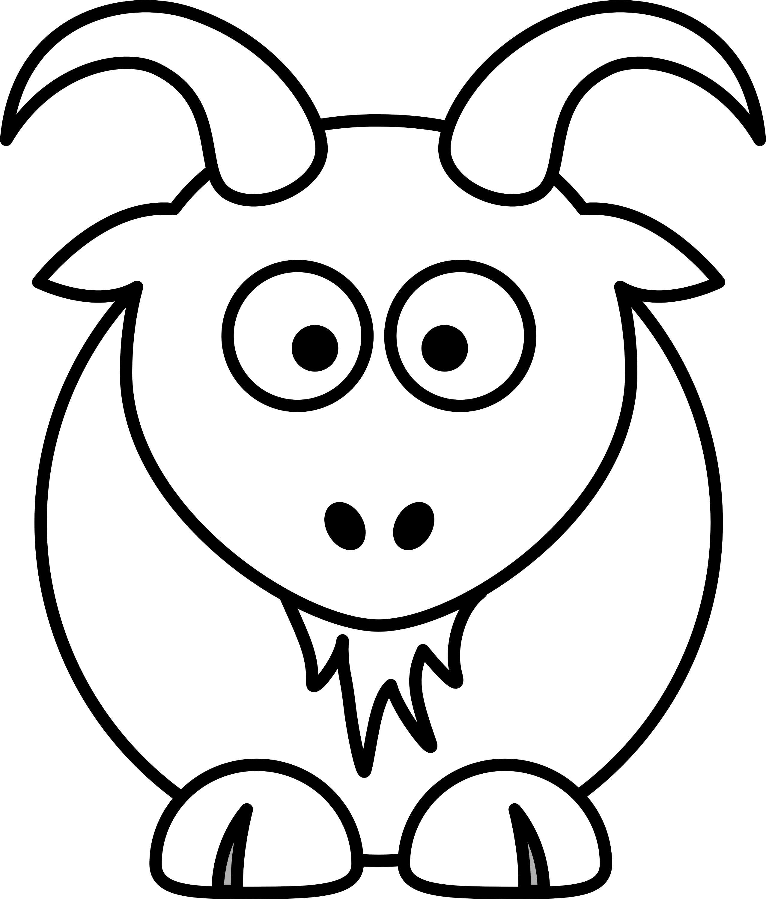 Black & White clipart #7, Download drawings