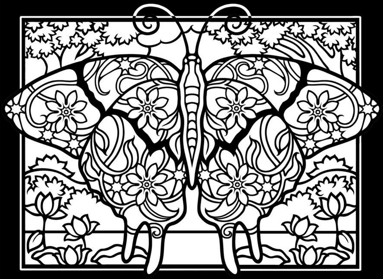 Black & White coloring #6, Download drawings
