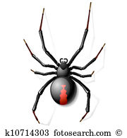 Black Widow clipart #10, Download drawings