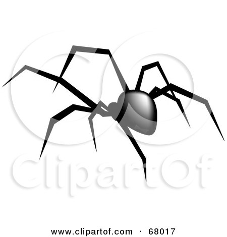 Black Widow clipart #6, Download drawings