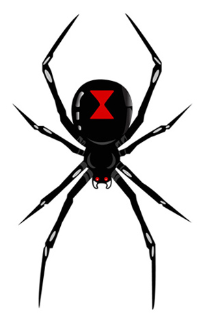 Black Widow clipart #17, Download drawings