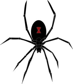 Black Widow clipart #11, Download drawings