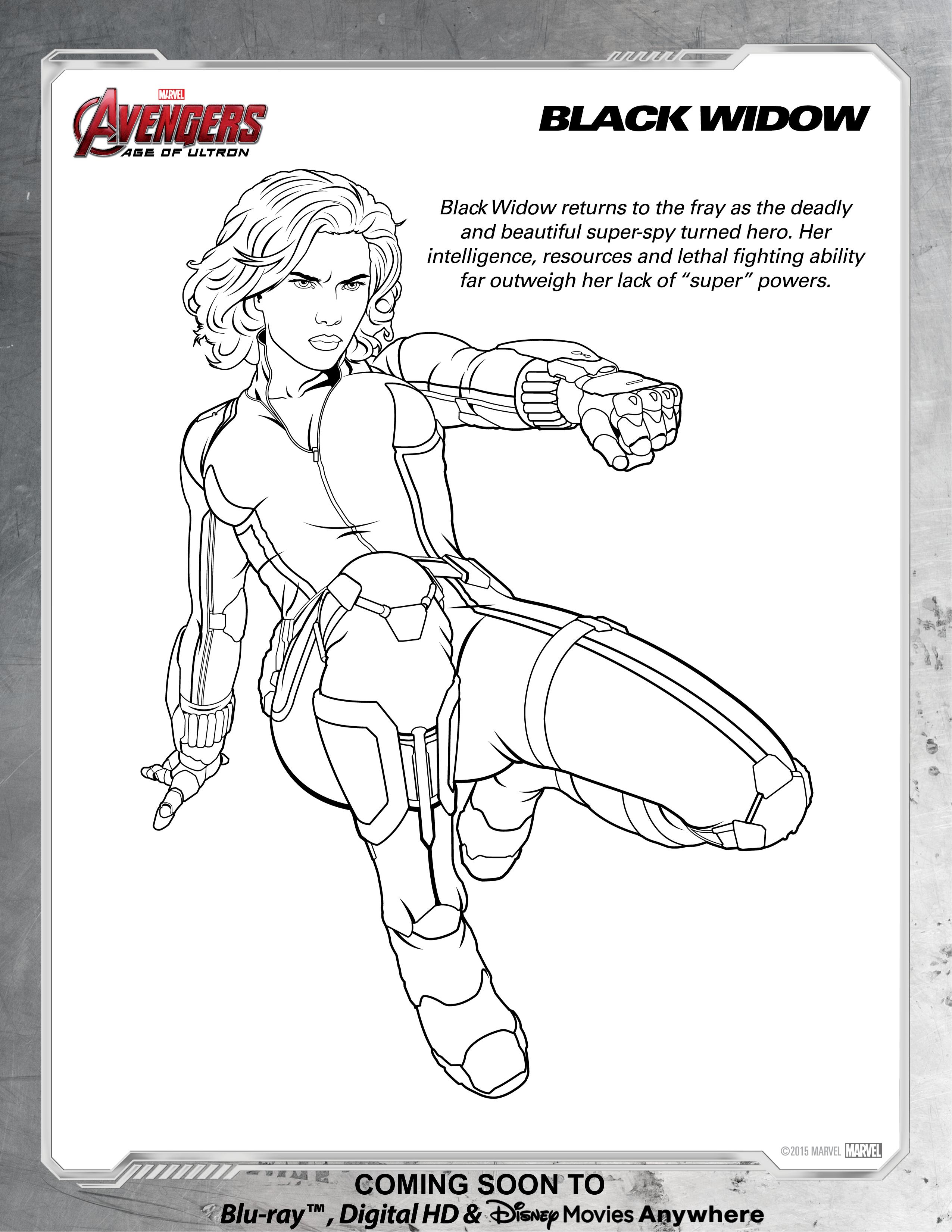 Black Widow Coloring Download Black Widow Coloring