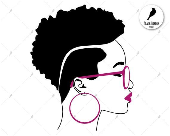 black woman svg #658, Download drawings