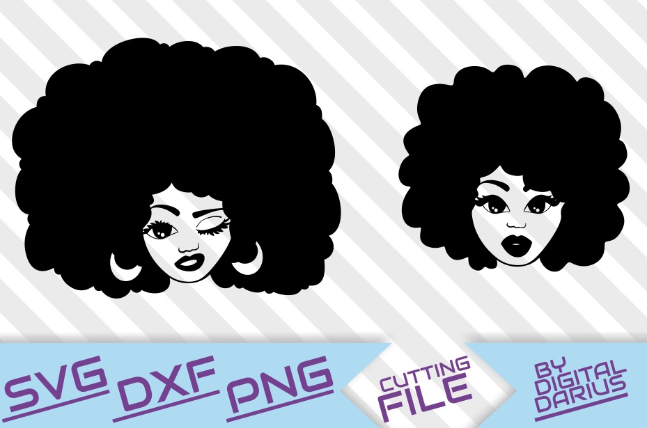 black woman svg #661, Download drawings