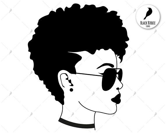 black woman svg #654, Download drawings
