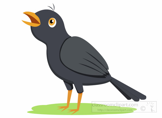 Blackbird clipart #1, Download drawings