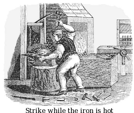 Blacksmith coloring #9, Download drawings