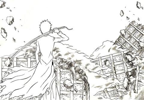 Bleach coloring #12, Download drawings