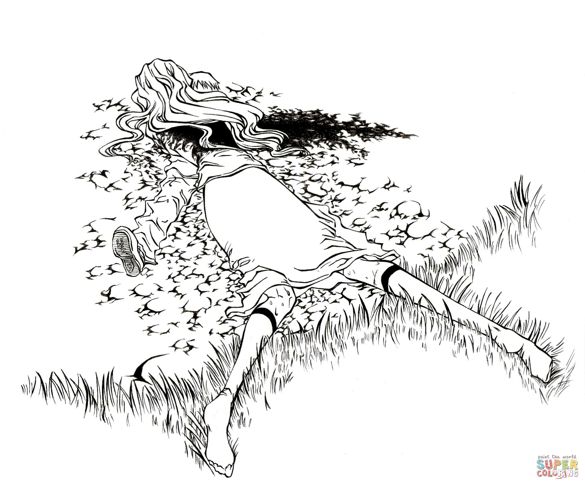 Bleach coloring #3, Download drawings