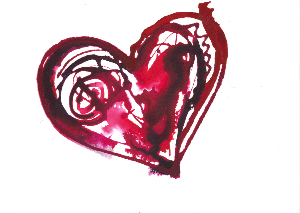 Bleeding Heart clipart #2, Download drawings