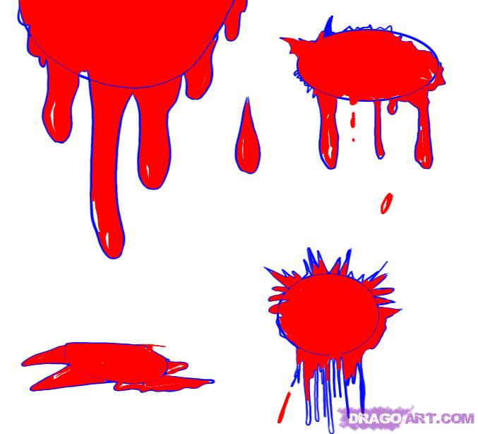 Blood coloring #11, Download drawings