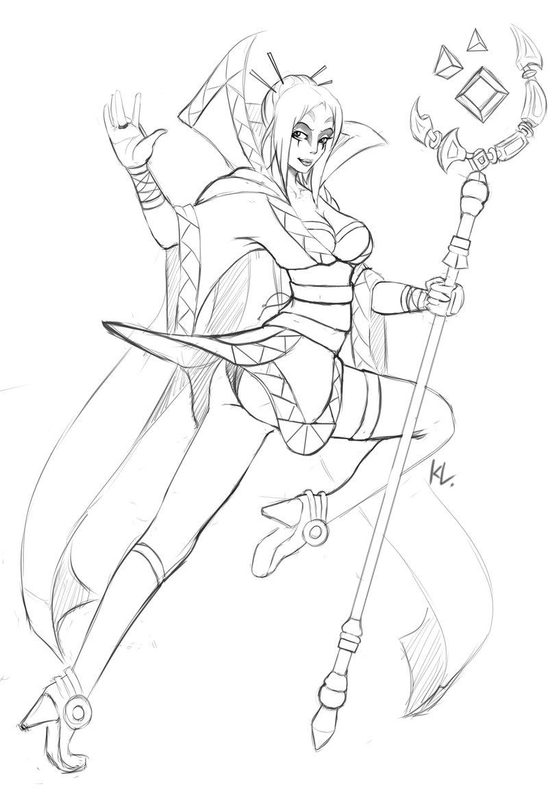LeBlanc (League Of Legends) coloring #14, Download drawings