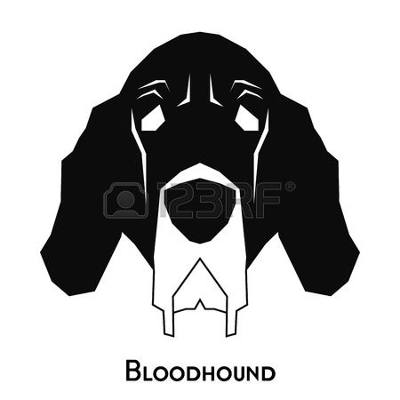 Bloodhound clipart #2, Download drawings