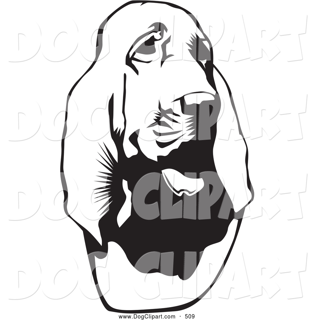 Bloodhound clipart #15, Download drawings