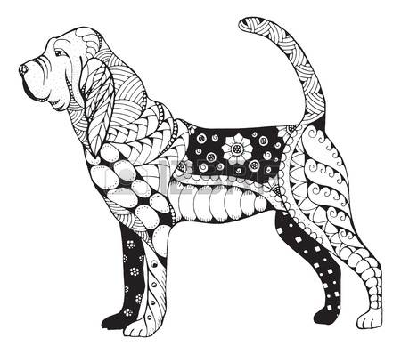 Bloodhound clipart #9, Download drawings