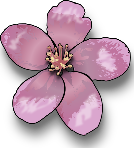 Blossom clipart #11, Download drawings