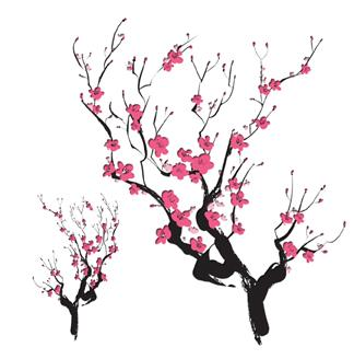 Ume Blossom svg #17, Download drawings