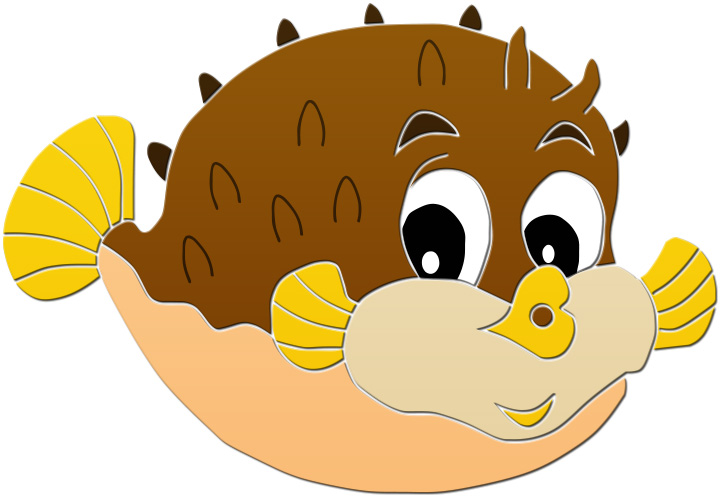 Pufferfish clipart #20, Download drawings
