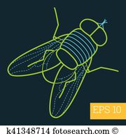 Blowfly clipart #6, Download drawings