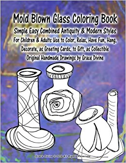 Blown Glass coloring #7, Download drawings