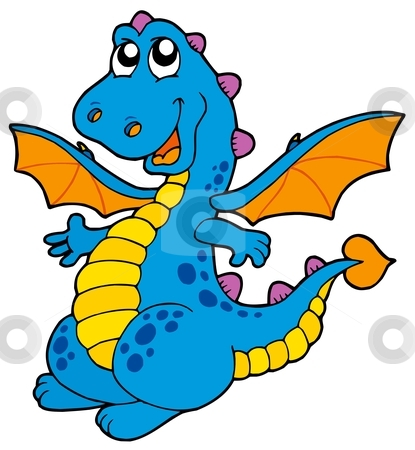 Blue Dragon clipart #18, Download drawings