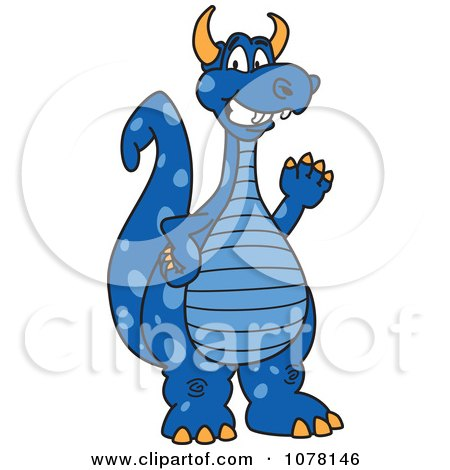 Blue Dragon clipart #11, Download drawings