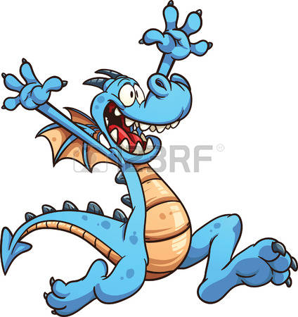 Blue Dragon clipart #5, Download drawings