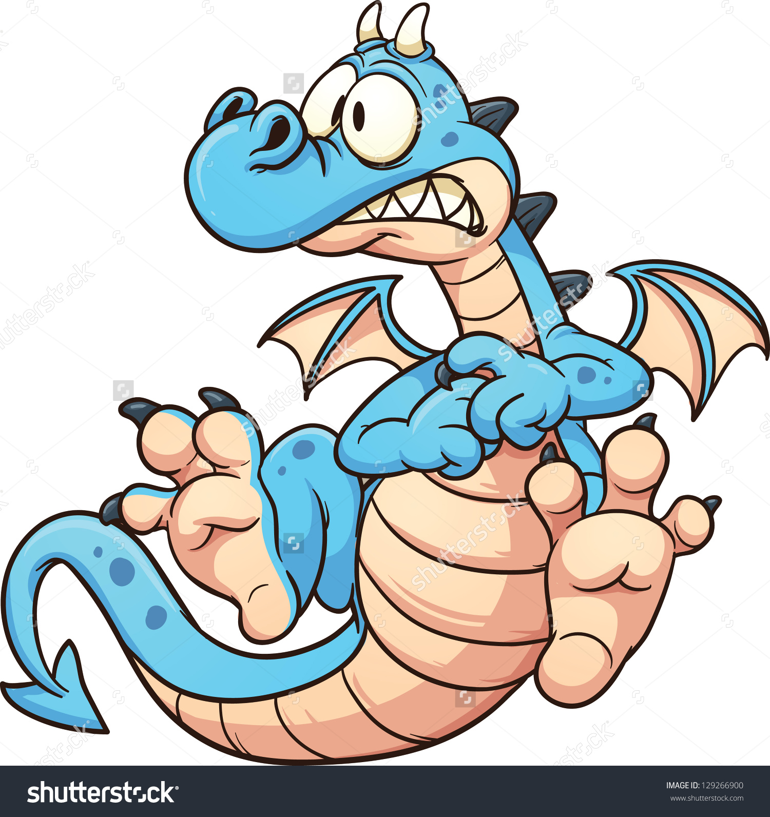 Blue Dragon clipart #1, Download drawings