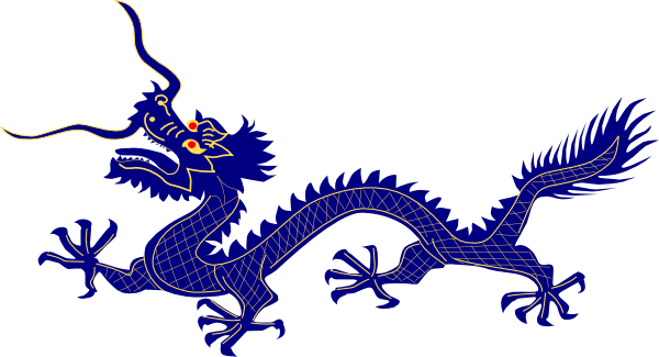 Blue Dragon clipart #4, Download drawings