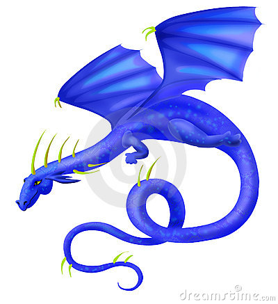 Blue Dragon clipart #8, Download drawings