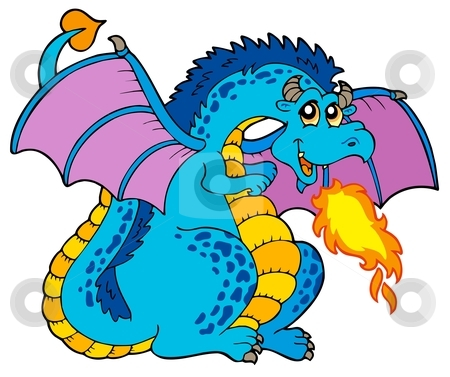 Blue Dragon clipart #19, Download drawings