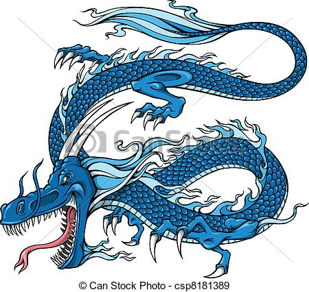 Blue Dragon clipart #10, Download drawings