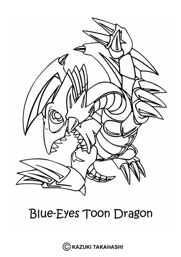 White Dragon coloring #11, Download drawings
