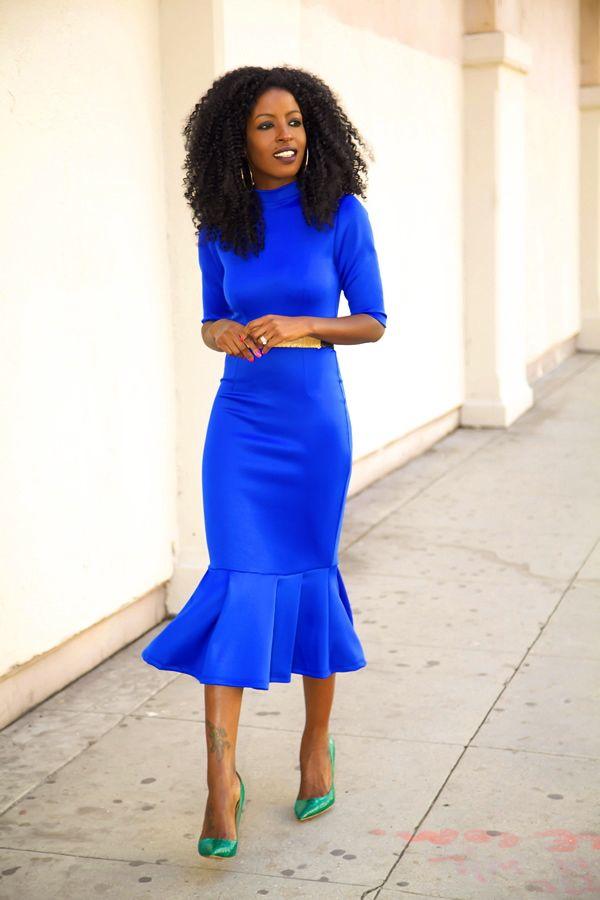 Blue Dress coloring #19, Download drawings