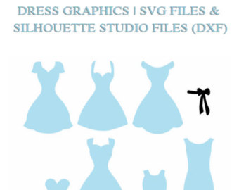 Blue Dress svg #17, Download drawings