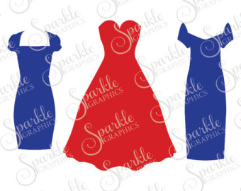 Blue Dress svg #15, Download drawings