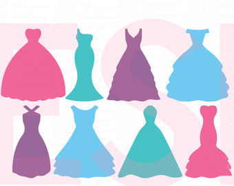 Blue Dress svg #14, Download drawings