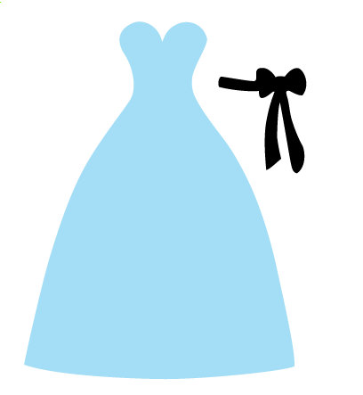 Blue Dress svg #16, Download drawings