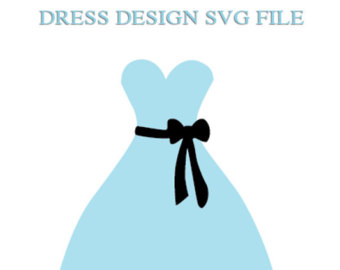 Blue Dress svg #18, Download drawings