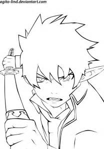 Blue Exorcist coloring #10, Download drawings