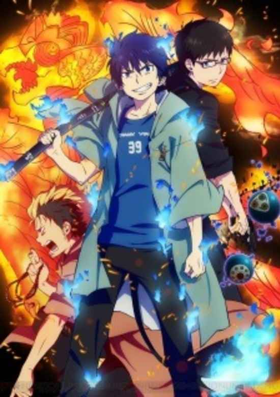 Blue Exorcist svg #1, Download drawings