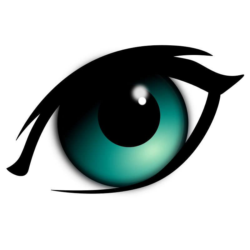 Blue Eyes clipart #2, Download drawings