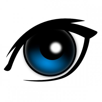 Blue Eyes clipart #3, Download drawings