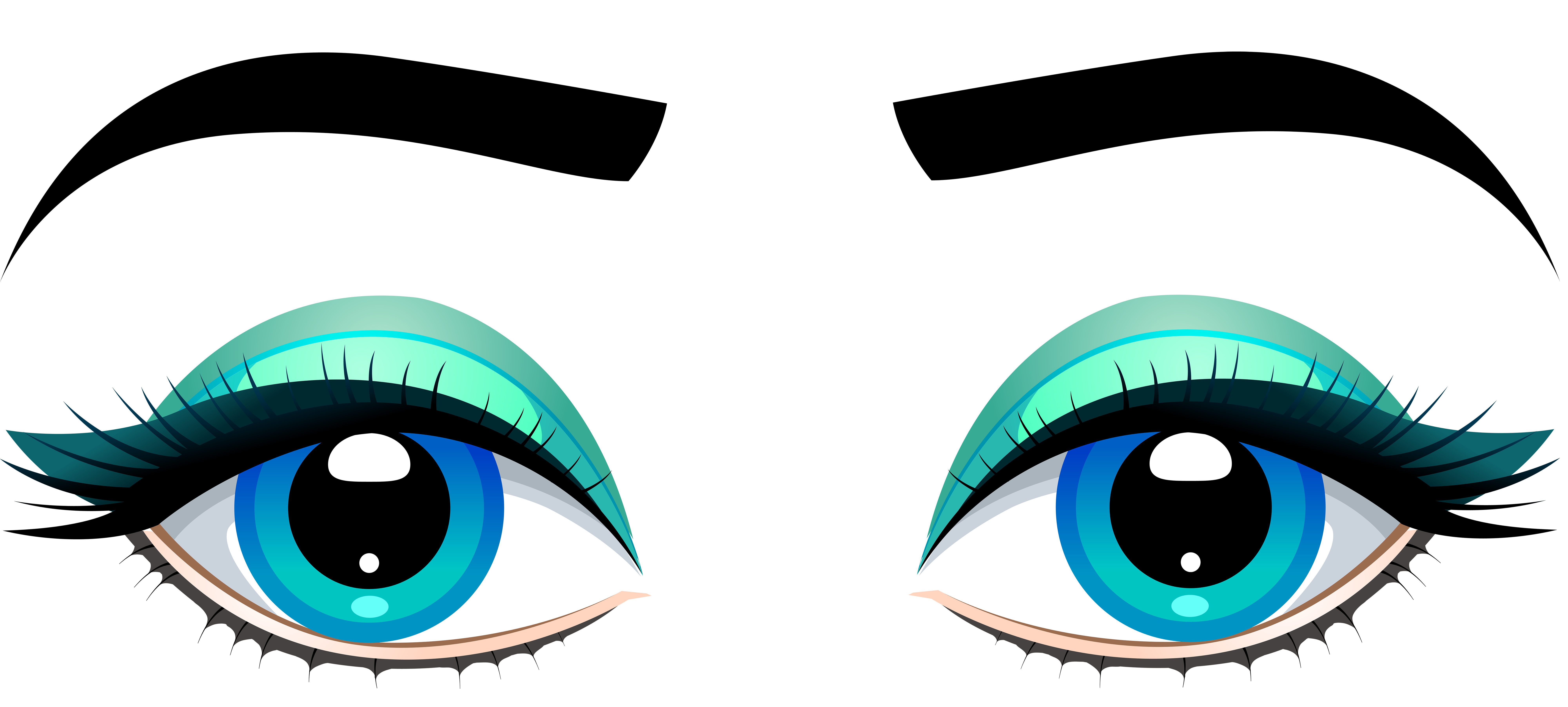 Blue Eyes clipart #1, Download drawings