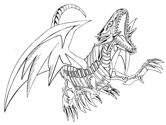 White Dragon coloring #16, Download drawings
