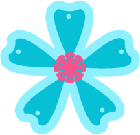 Blue Flower clipart #12, Download drawings