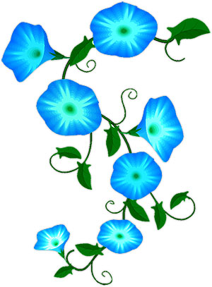 Blue Flower clipart #14, Download drawings