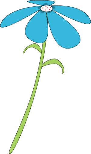 Blue Flower clipart #10, Download drawings